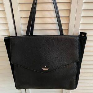 Kate Spade black tote bag